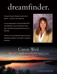Print ad for Caron Weil