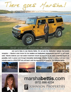 Print ad for Marsha Bettis